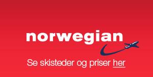 Skiferie med Norwegian