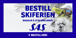Skiferie med SAS