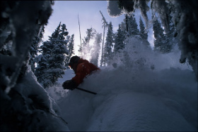 Resorts across the West, such as Lost Trail, Mont., have deep snow. Use caution in the trees.